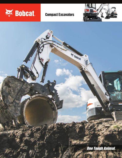 Bobcat Compact Excavator Brochure