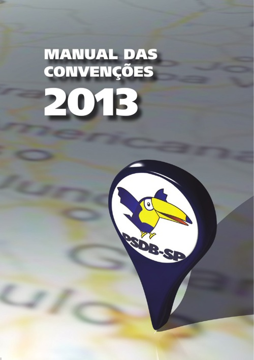 Manual Convenções PSDB-SP 2013
