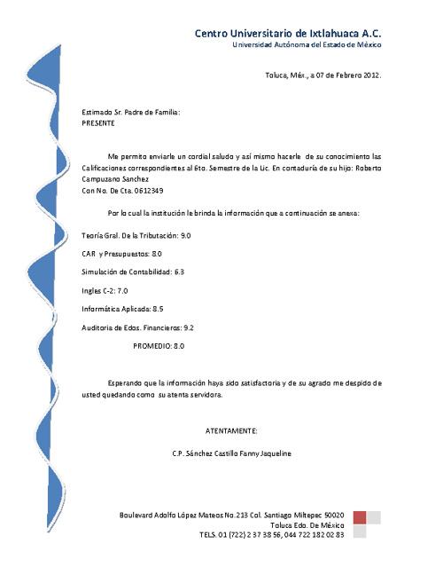 2ª Tarea CALIFICACIONES 601-C (Fanny J. Sanchez)