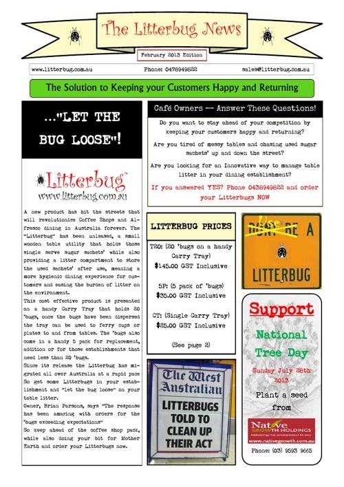 Litterbug News