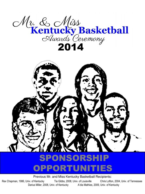 Mr. and Miss Kentucky Basketball Sponsorship Opportunities