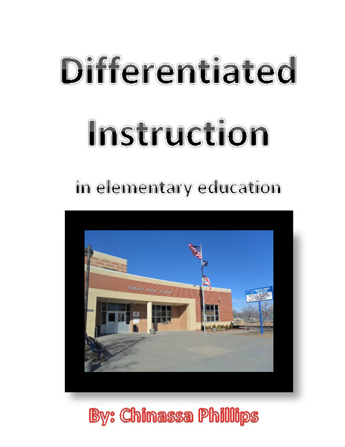 Differentiated Instruction-Senior Project