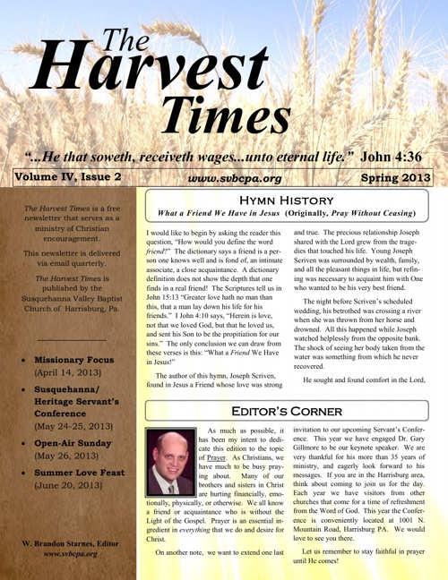 Harvest Times Vol. IV, 2