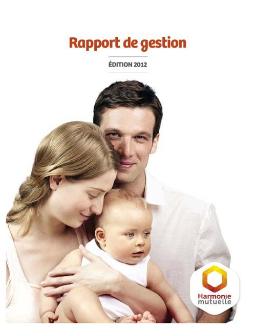 Rapport de Gestion (Édition 2012)