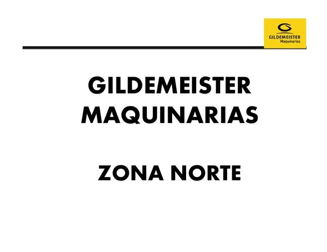 Presentacion Maquinarias Gildemeister