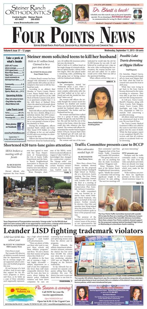 Four Points News September 11 2013