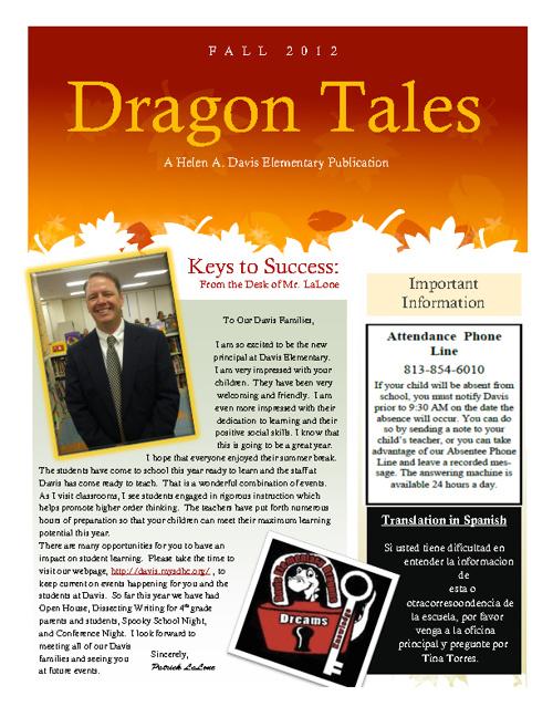 Davis November Newsletter