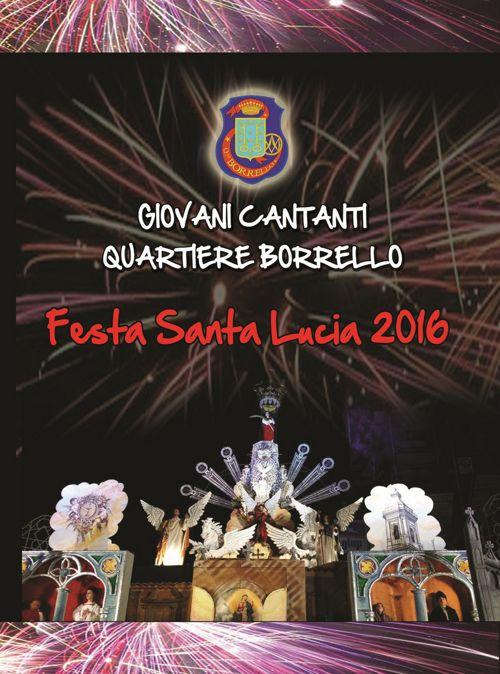 Programma Carro 2016 Giovani Cantanti Quartiere Borrello