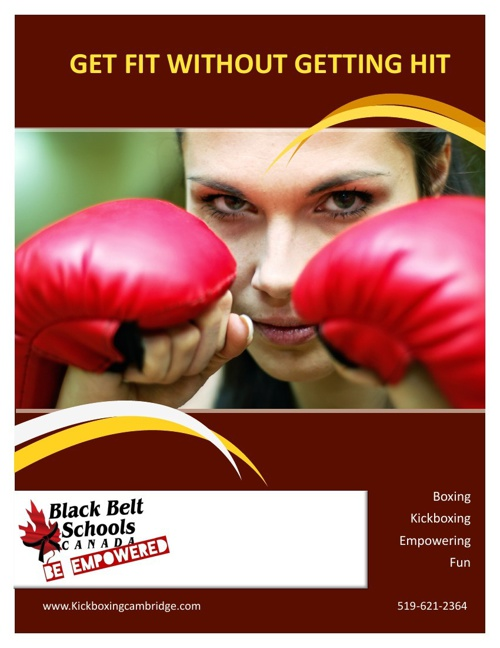 Kickboxing Brochure