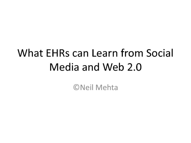 The More Social EHR