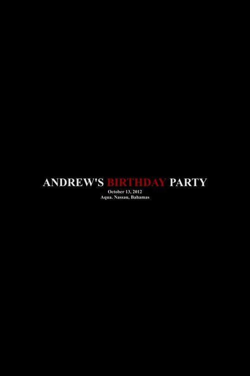 Andrew's Birthday Dinner Party