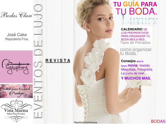 Revista de lujo eventos