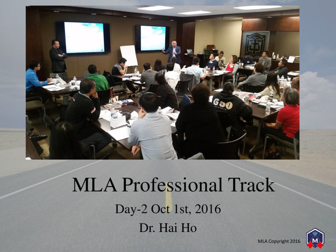 MLA Professional Track Day 2 - Publish
