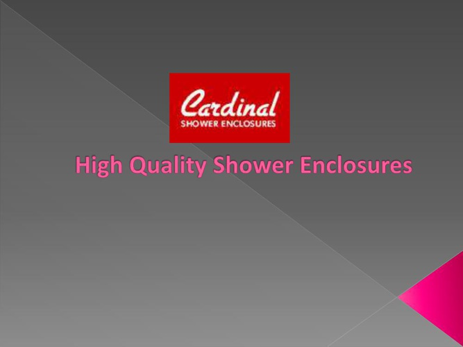 High Quality Shower Enclosures