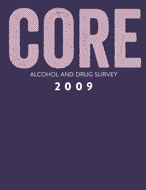 CORE Alcohol and Drug Survey 2009