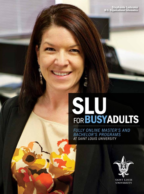 Saint Louis University - SLU for Busy Adults Viewbook