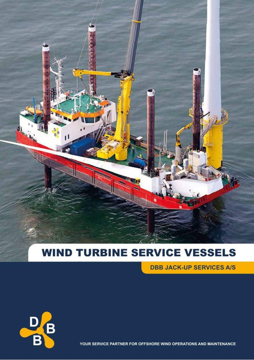 DBB JACK-UP WIND TURBINE SERVICE VESSELS