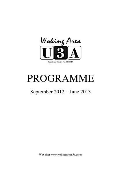 Copy of Programme 1