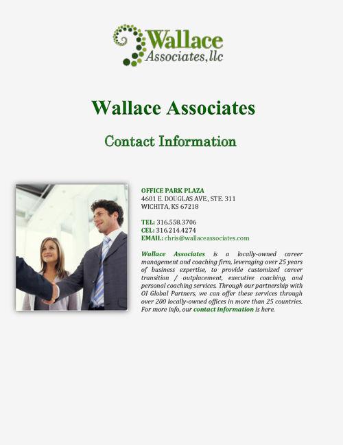 Wallace Associates: Contact Information
