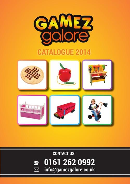 Gamez Galore flip catalogue 2014