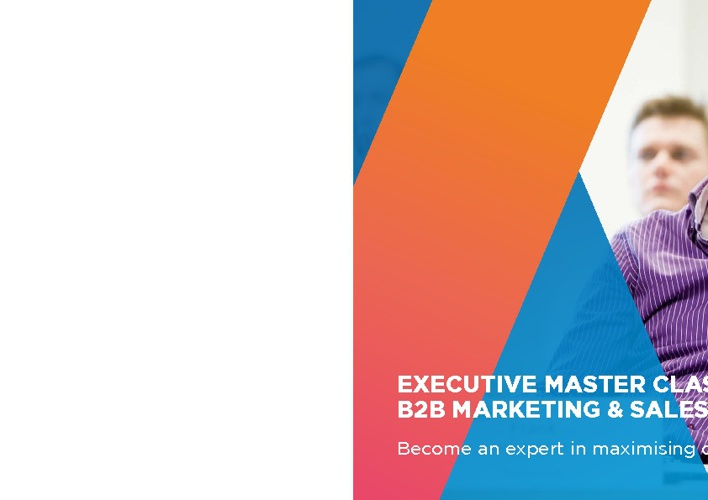 Executive Master Class in B2B