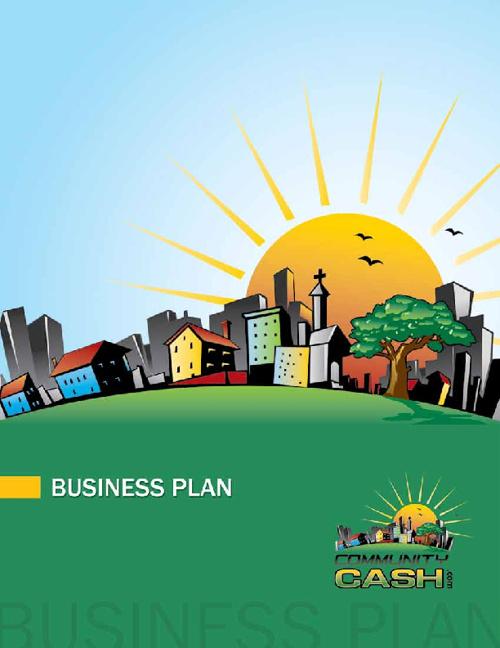 Community Cash Business Plan