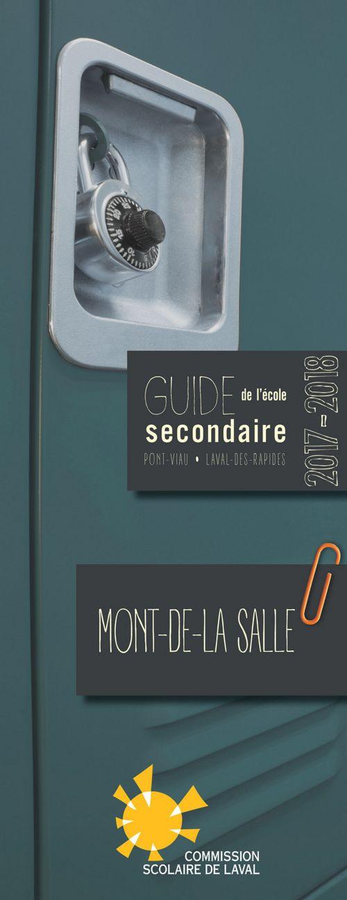 Guide école secondaire Mont-de-La Salle 17-18