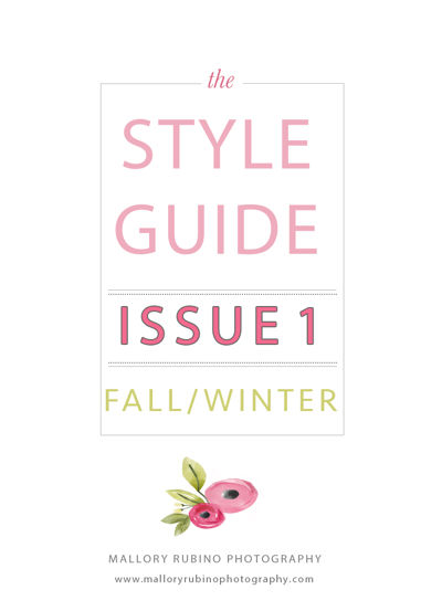 Fall/Winter style guide