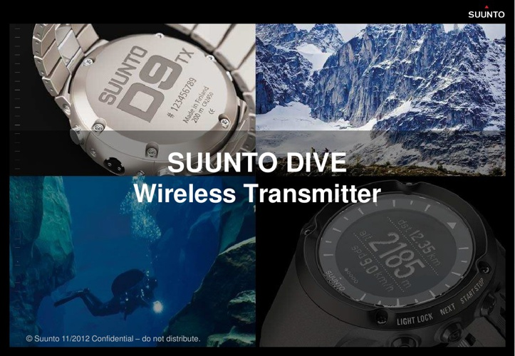 NEW Suunto transmitter