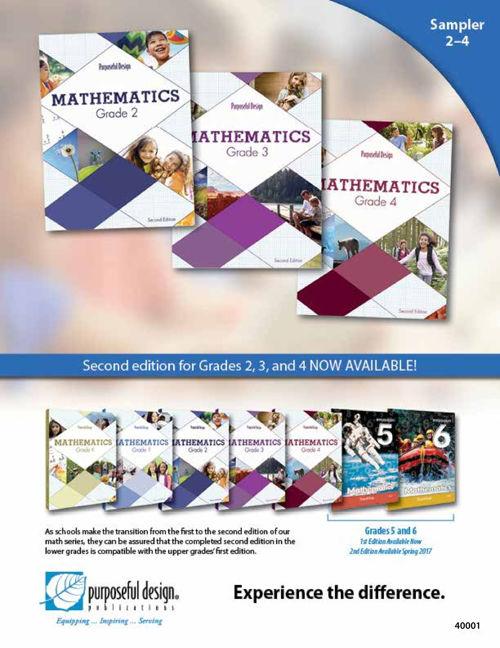 Sampler Math Grades 2-4
