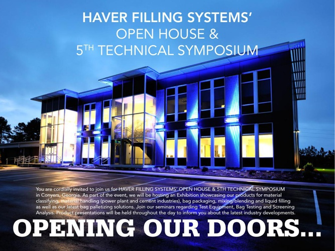 Open House & 5th Technical Symposium | Product Showcase