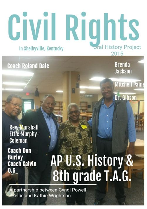 Civil Rights in Shelby County, KY an Oral History Project