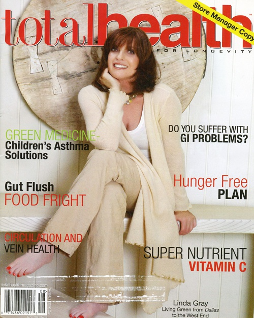LINDA GRAY in TOTAL HEALTH MAGAZINE