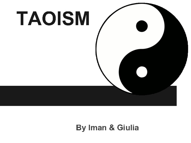 Iman and Giulia's Taoism Project