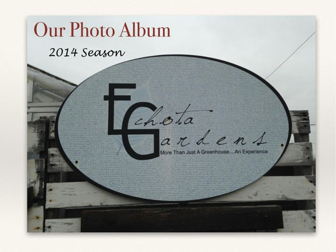 Echota Gardens 2014