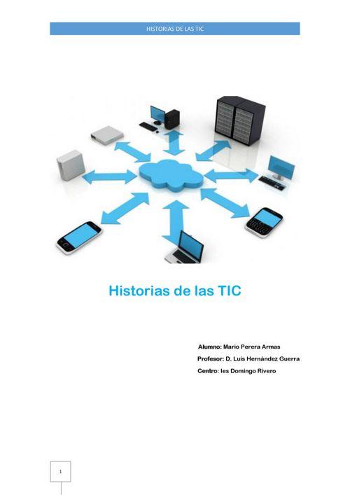 Historias de la TIC. Mario Perera.