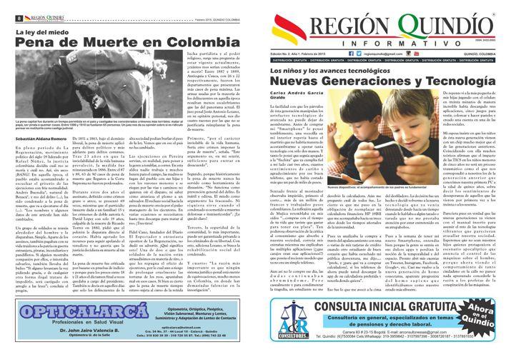 REGION QUINDIO edicion 2