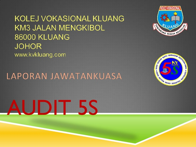Fail JK Audit 5S