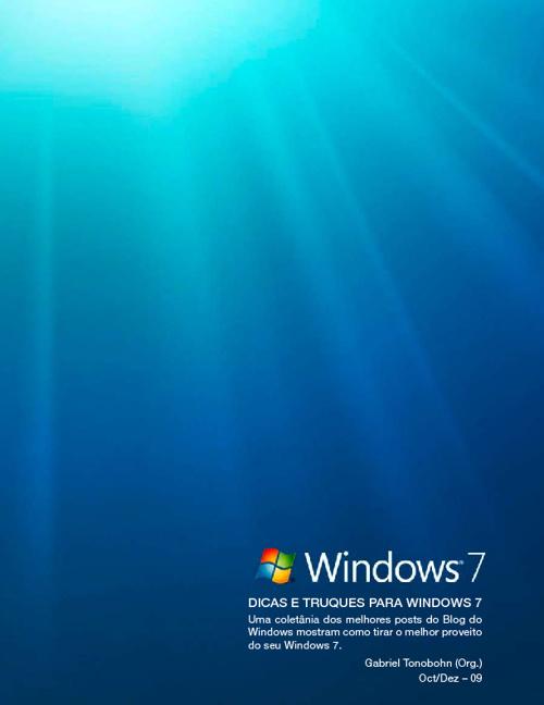 Dicas e Truques Windows 7