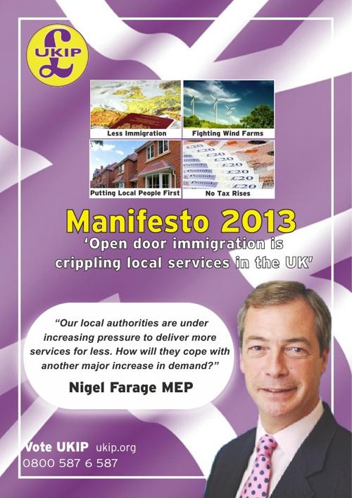 2013 Local Election Manifesto