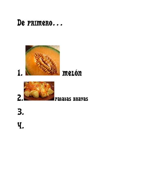 """El restaurante """"Susana"""""""