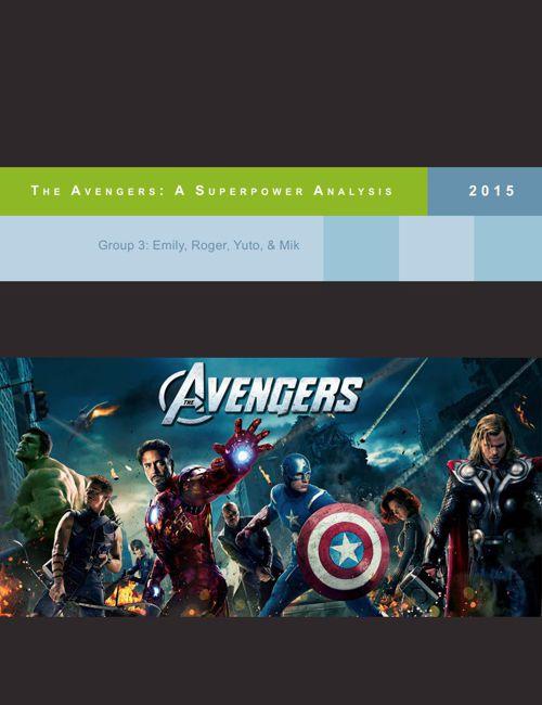 Avengers Power Analysis
