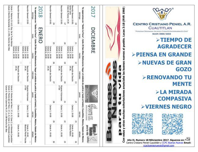 CCPC Buenas Nuevas Boletin Digital de Diciembre 2017