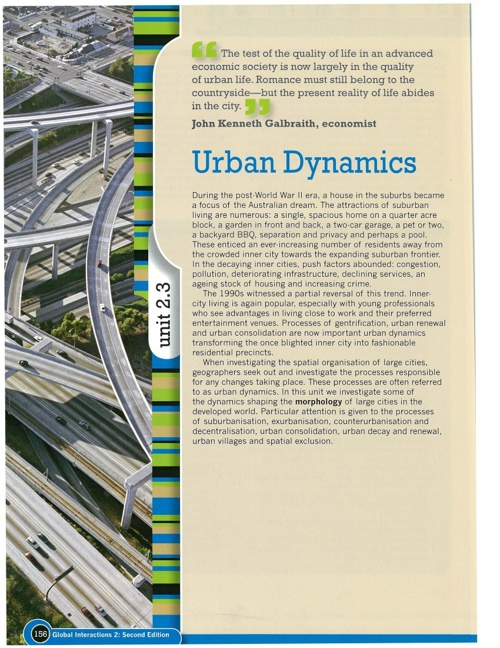 3 Urban Places Urban Dynamics