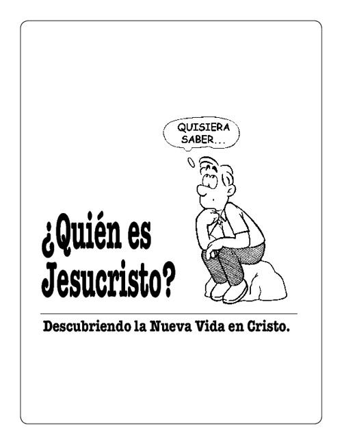 Quien es Jesus