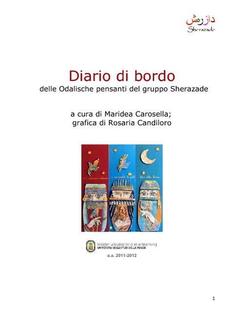 Diario di Bordo - Sherazade e Le Odalische Pensanti