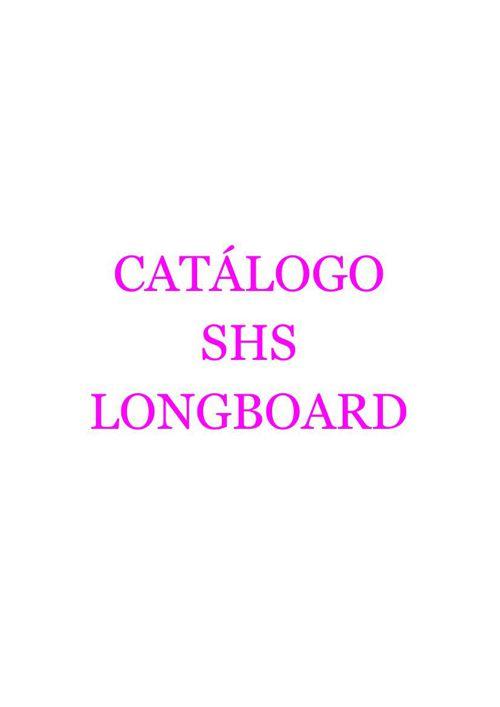 CATALOGOSHS