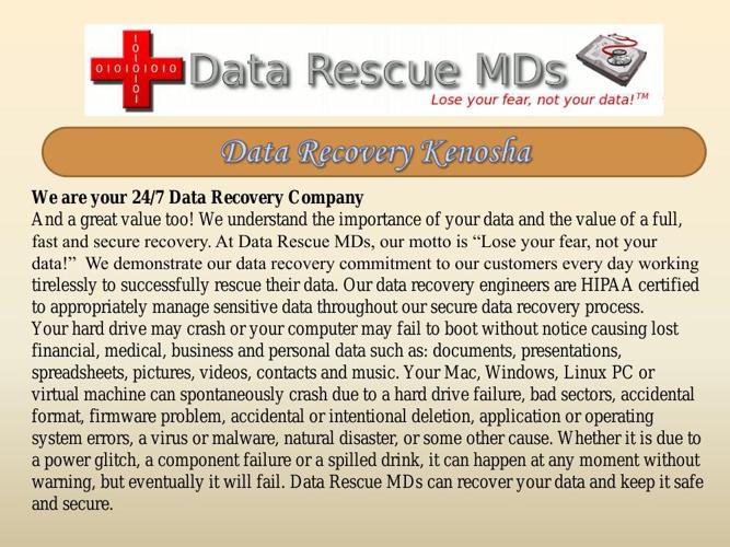 Data Recovery Kenosha