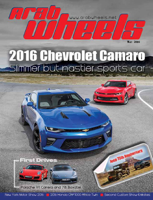 Arabwheels May 2016