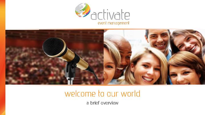Activate Overview e-Brochure